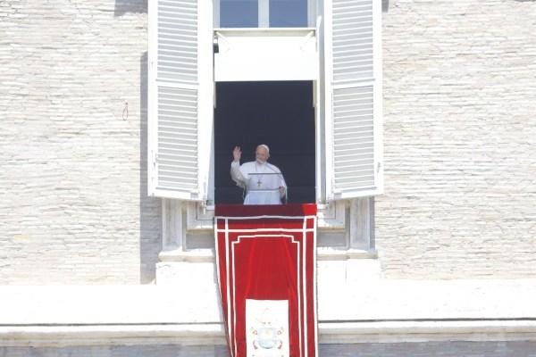 Como es su costumbre, el Papa pidió a los fieles que no se olviden de rezar por él. Foto: Pablo Esparza