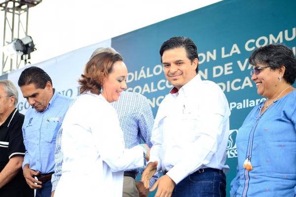 Suman ya 13 hospitales rurales visitados por el presidente de México y el gabinete de salud. Foto IMSS