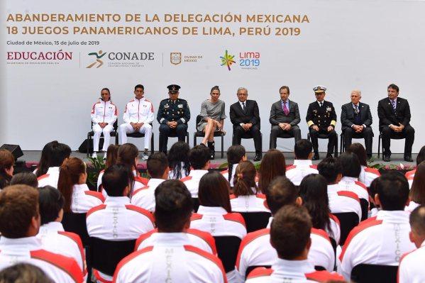 Juegos Panamericanos AMLO