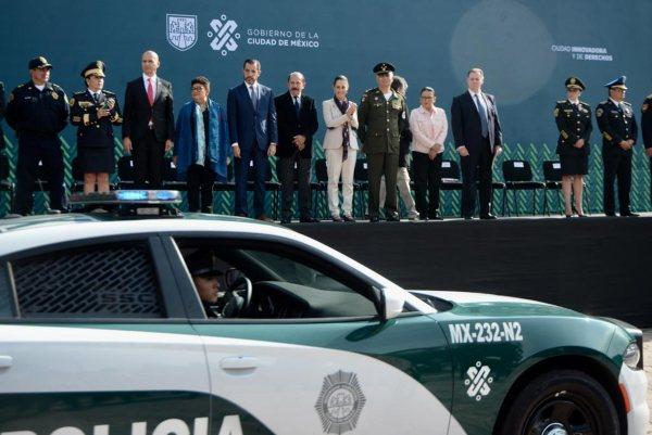 CDMX Policías Claudia Sheinbaum