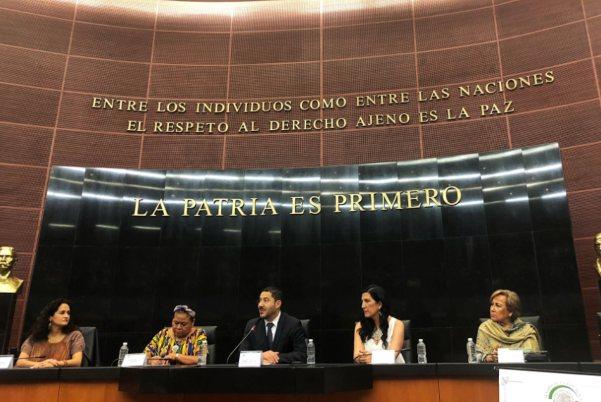Senado Migración Rigoberta Menchú
