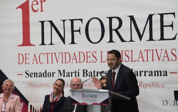 Buscamos que las decisiones que se tomen en torno a las redadas migrantes sean consensuadas con el Senado: Martí Batres