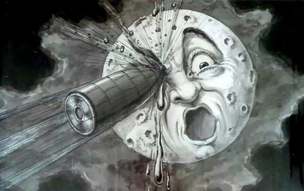 VISIÓN. El autor francés predijo datos como la forma cónica del cohete. Foto: Especial.