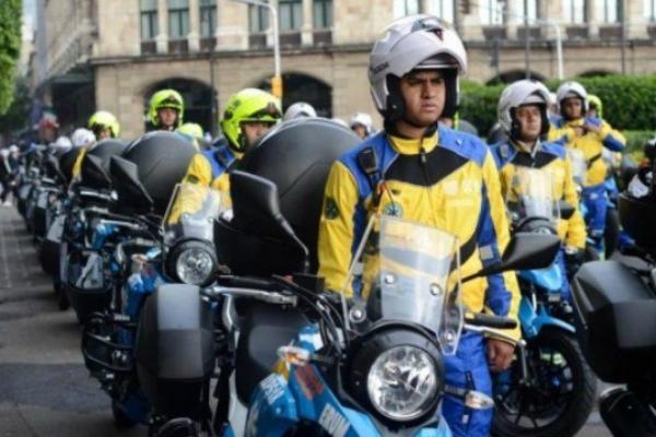 Motoparamédicos en la CDMX
