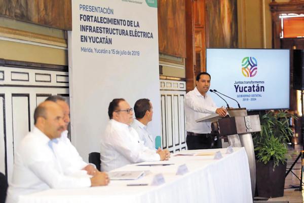 PROYECTO. Vila Dosal y Morales Mar presentaron una serie de obras y acciones a considerar. Foto: Especial.