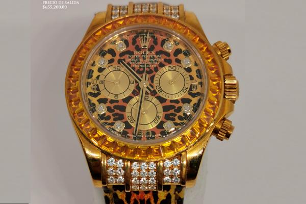 Con la subasta de joyas se espera recaudar 22.6 millones de pesos. FOTO: ESPECIAL