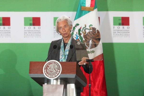 FMI Christine Lagarde BCE