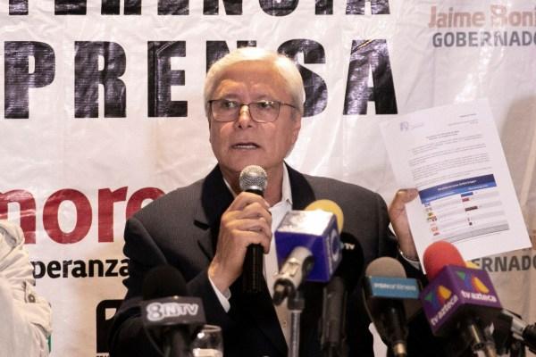 Jaime Bonilla Valdez, gobernador de Baja California. Foto: Archivo | Cuartoscuro