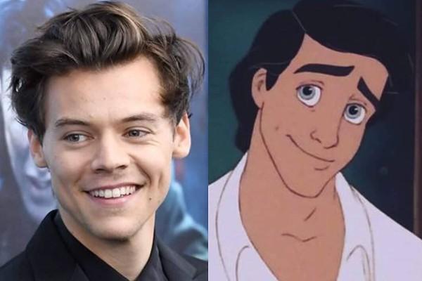 Harry Styles principe Eric