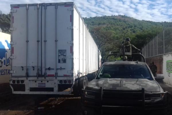 camion con marihuana