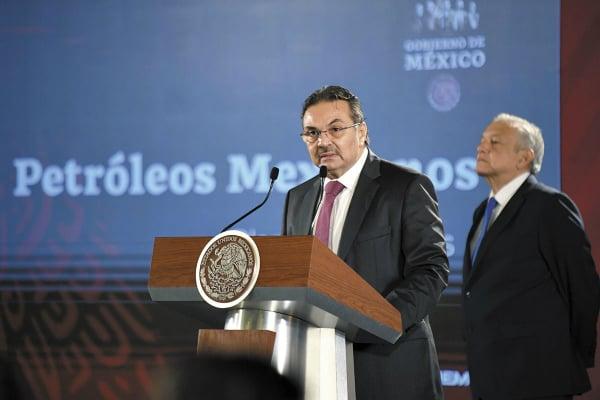 Octavio Romero dijo que el proyecto muestra la visión estratégica de la empresa. Foto: Nayeli Cortés.