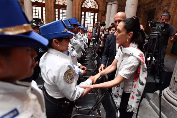 SOLIDARIDAD. El acto fue encabezado por la jefa de Gobierno, Claudia Sheinbaum. Foto: Pablo Salazar.