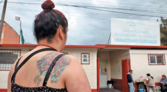SERVICIO. Muchos centros de Salud reciben a los adictos por mera amabilidad, no es obligación. Foto: Víctor Gahbler