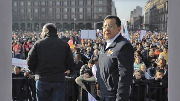 l EL ZAR. Miguel Ángel Vásquez tiene un vínculo directo con el sindicato que controla a 110 mil trabajadores. Foto:  Especial.