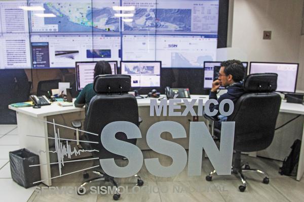 REPORTE. El Servicio Sismológico Nacional informó que los sismos son casi imperceptibles. CUARTOSCURO