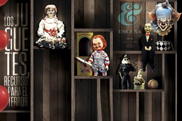 Los juguetes, un recurso para el terror