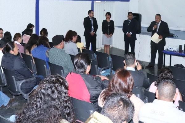 El ombusman huixquiluquense señaló que la capacitación será una constante en el municipio. Foto: Especial