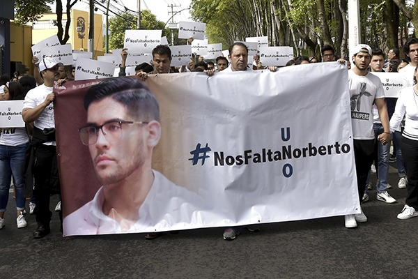 Norberto Ronquillo fue secuestrado y asesinado el pasado mes de junio en la CDMX. Foto: Cuartsocuro