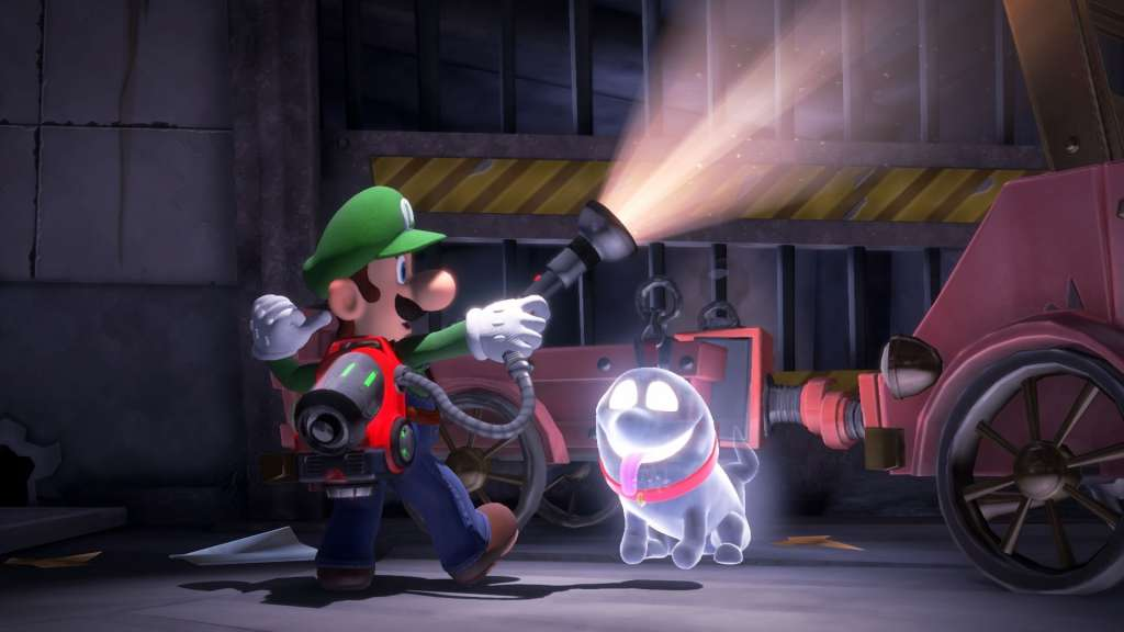 Switch LuigisMansion3