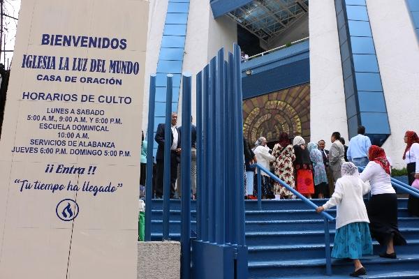 Aunque la fianza del líder de La Luz del Mundo, Naasón Joaquín Garcíay, le fue negada y deberá enfrentar su proceso en la cárcel, la comunidad en Guadalajara está tranquila. Foto: Cuartoscuro