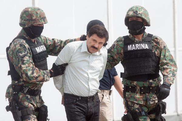 Joaquín Guzmán Loera es detenido en territorio mexicano