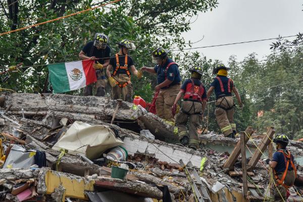 Acciones de rescate durante sismo 19S, imagen ilustrativa. Foto: especial