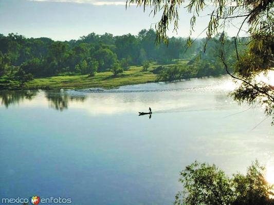 HIDROGRAFÍA. El río Moctezuma es uno de los grandes afluentes de la entidad. Foto: MÉXICO EN FOTOS