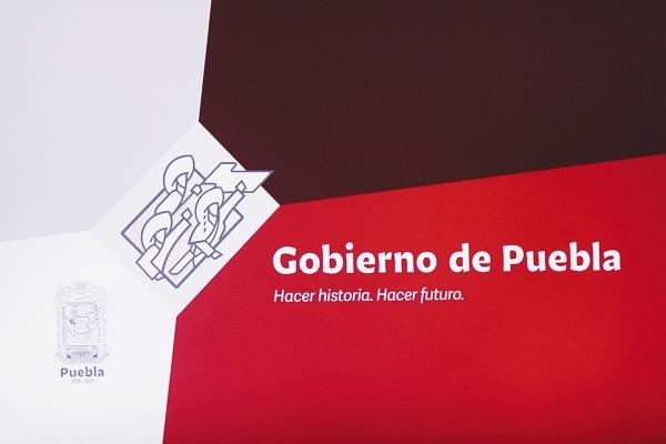 SIMBOLISMO. La caligrafía pretende resaltar los aspectos históricos de Puebla. Foto: Enfoque