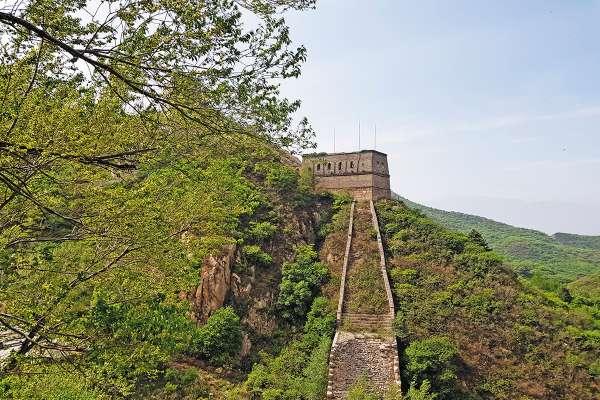 RETO. La sección Simatai y Jingshanling de la Gran Muralla China requieren ser restauradas. Foto: Lizeth Gómez de Anda.