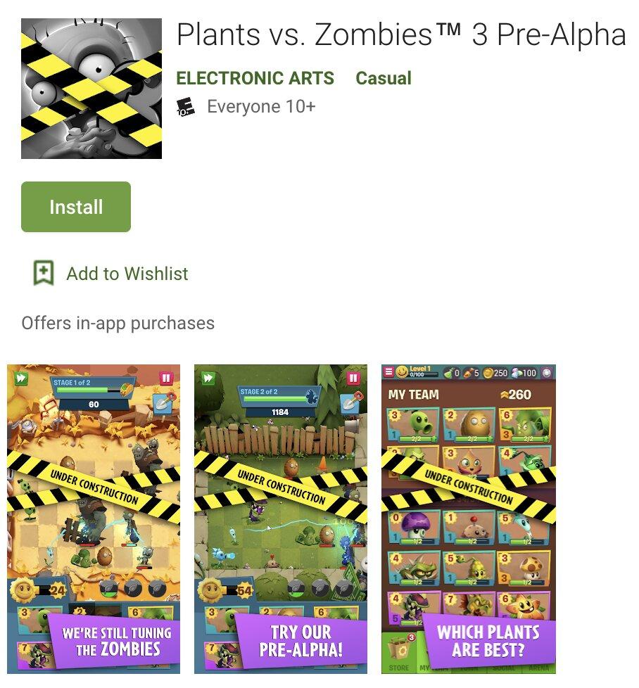 Filtrado Plantas Vs Zombies 3
