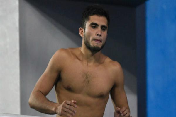 Clavadistas Iván García y Brayan Berlín pasan a semifinales. Foto: especial
