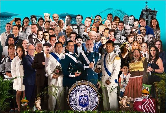 Club Puebla cumple 75 años de existencia. FOTO: Especial