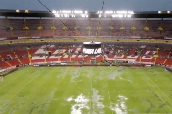 Así se encuentra el estadio en el que se realizará el partido. Foto: especial