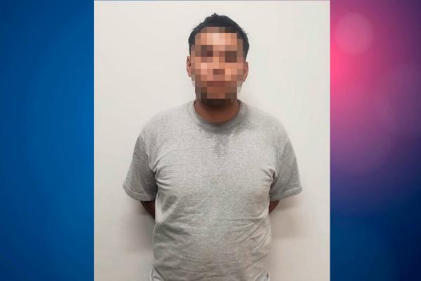 El detenido tiene 18 años de edad. Foto: Especial.