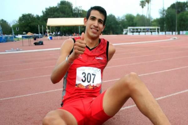 Atletismo, rompen récord mexicano. Foto: especial