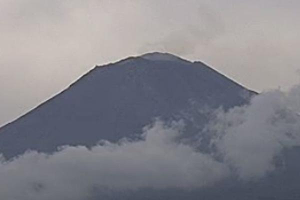 La activad del volcán se mantiene en Amarillo Fase 2. Foto: Especial.