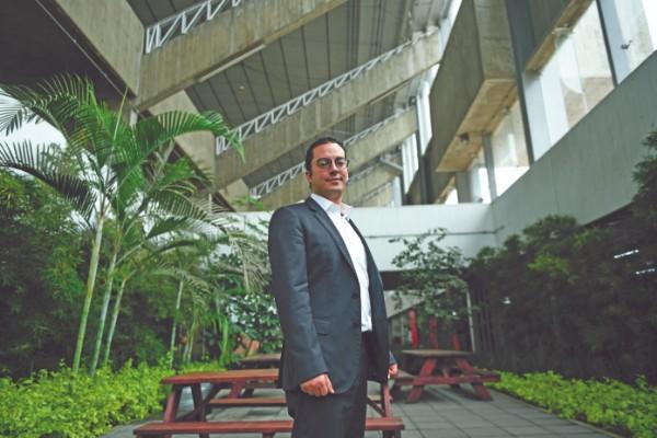 NOVEDAD. Rodrigo Dosal, director del Indeporte de la Ciudad de México. Foto: Nayeli Cruz