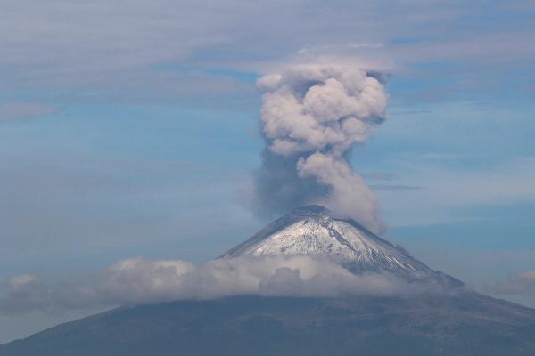 Así es el nuevo domo descubierto en el cráter del Popocatépetl: VIDEO