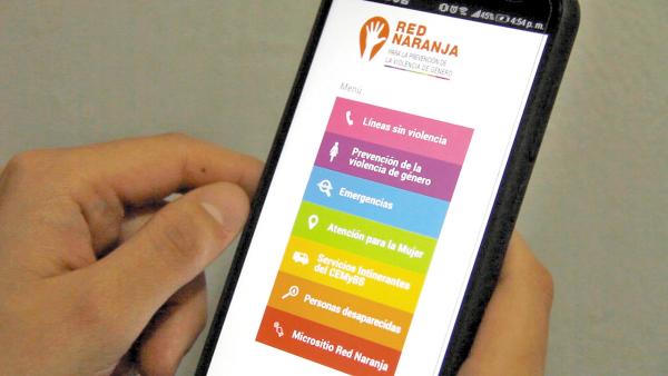 AVANCE. La aplicación cuenta con varios servicios. Foto: Especial.