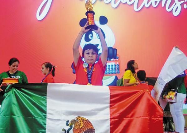 LOGRO. Compitieron contra 700 niños de 16 países. Foto: Especial