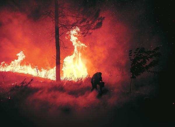MAÇÃO. Más de mil bomberos luchan para controlar los incendios en el centro de Portugal.
