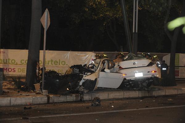 BMW-accidente-Reforma-Lieja