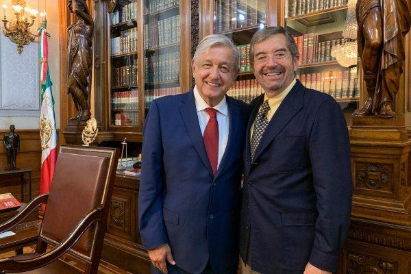 AMLO ONU México Juan Ramón de la Fuente