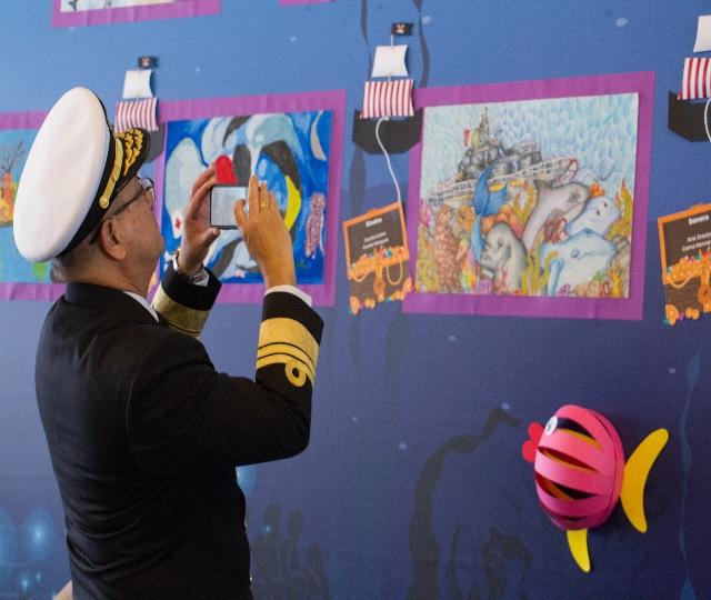 Emiliano Gironella estuvo presente en la 43ª edición del concurso el niño y la mar