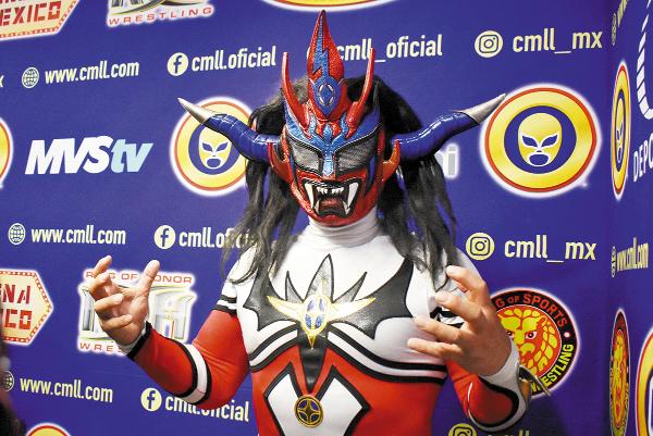 Enlace. Jushin Thunder Liger es uno de los luchadores con mayor reconocimiento. Foto: Angélica Díaz