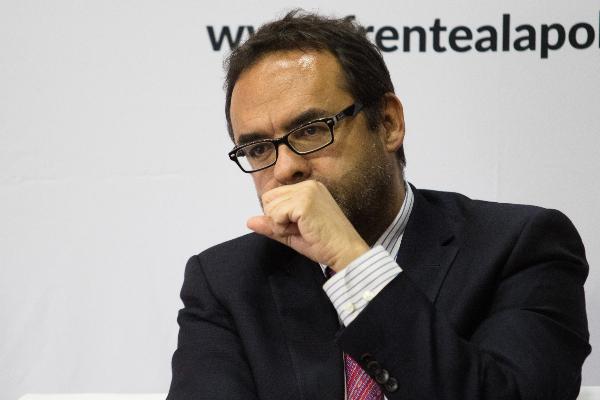 Gonzálo Hernández Licona, titular del Consejo Nacional de Evaluación de la Política de Desarrollo Social (CONEVAL) FOTO: MOISÉS PABLO /CUARTOSCURO.COM