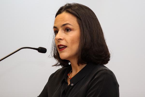 Alejandra Palacios Prieto, comisionada presidente de la Comisión Federal de Competencia Económica (Cofece) FOTO: GALO CAÑAS /CUARTOSCURO.COM