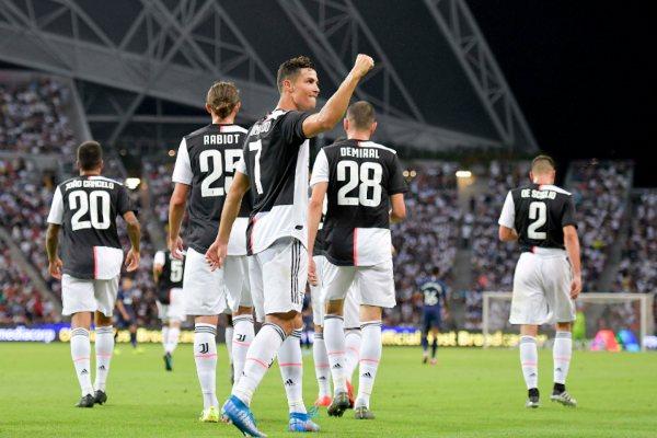 CR7 Juventus Sarri