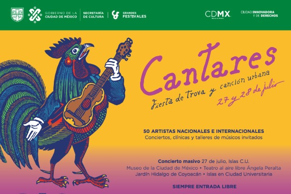 Fiesta de Trova en el Metro de la CDMX