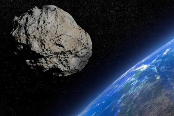 El asteroide pasará cerca de la Tierra el próximo 26 de julio. Foto: Especial.